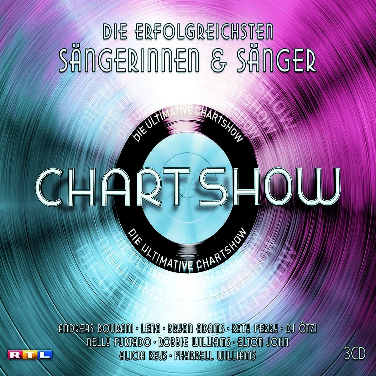 Die ultimative Chartshow am 28.02.2016 ab 2115 bei RTL