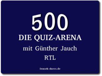 500 die quiz arena mit guenther jauch rtl