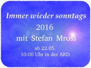 Stefan Mross Immer Wieder Sonntags