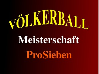 völkerball meisterschaft prosieben