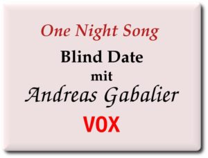 One night song mit andreas gabalier bei vox