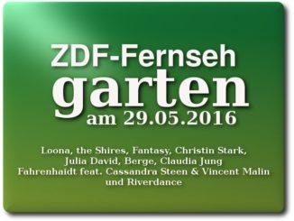 ZDF-Fernsehgarten am 29.05.2016
