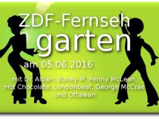 zdf fernsehgarten am 05.06.2016 disco