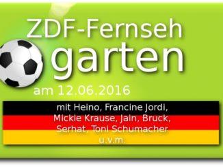 zdf fernsehgarten 12.06.2016 zur EM 2016