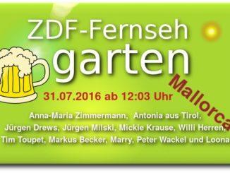 mallorca fernsehgarten 2016 ballermann