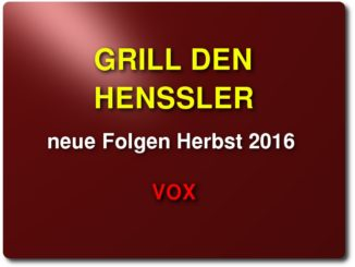 grill den henssler neue folgen herbst 2016 vox