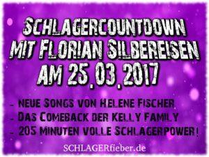 Schlagercountdown Mit Florian Silbereisen Am 2503 In Der Ard